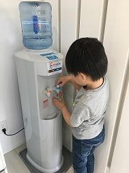 お客様導入事例子供の水を飲む習慣がついた